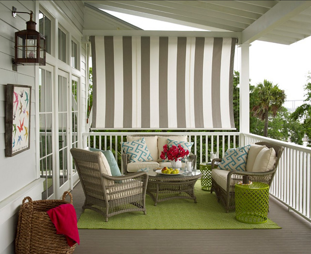 Patio Furniture Ideas. Comfortable and inviting patio furniture.  #PatioFurnitureIdeas #PatioIdeas #PatioDecor #PatioDesign