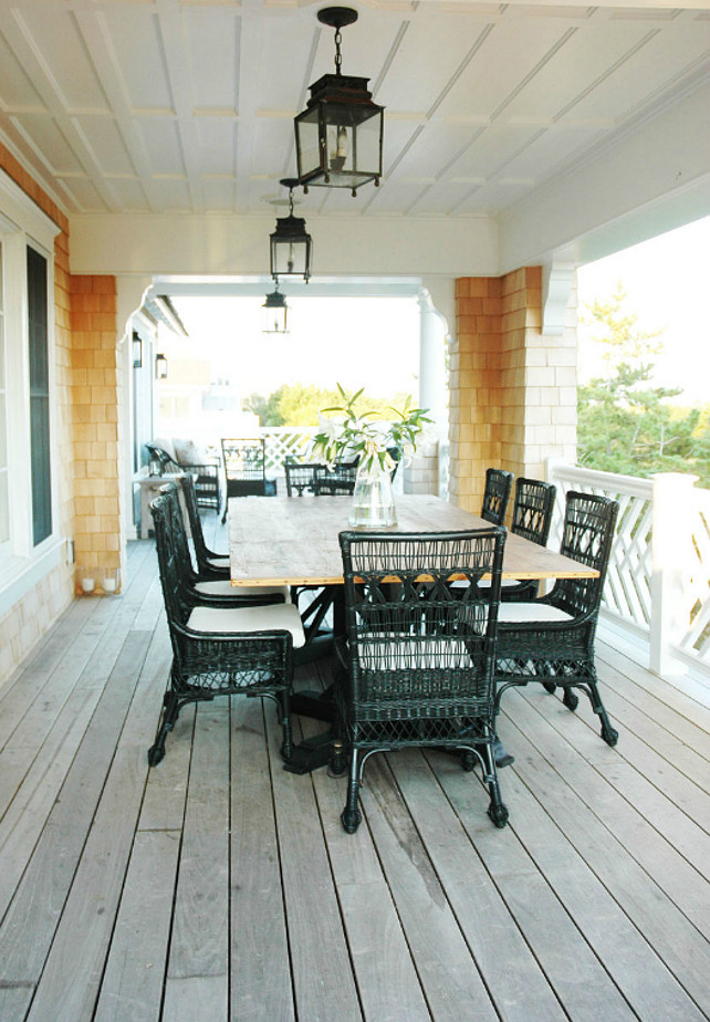 Patio. Coastal Patio Decor. Morrison Fairfax Interiors