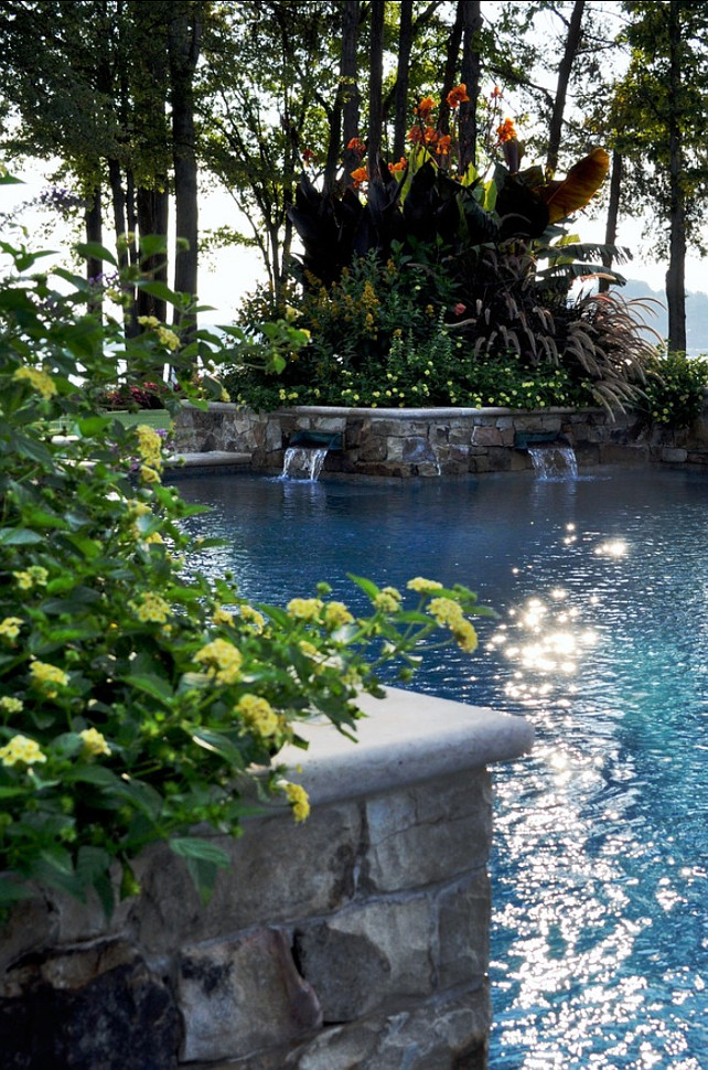 Pool Design Ideas. Inviting pool. Bruce Clodfelter and Associates.