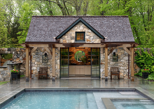 Pool House. Pool House Ideas. Brooks and Falotico Associates, Inc.