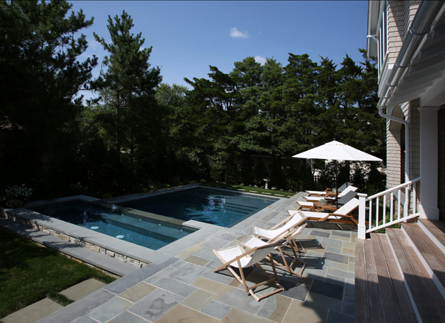 Pool Ideas. Great pool design ideas for city backyards. #Pool #PoolDesign