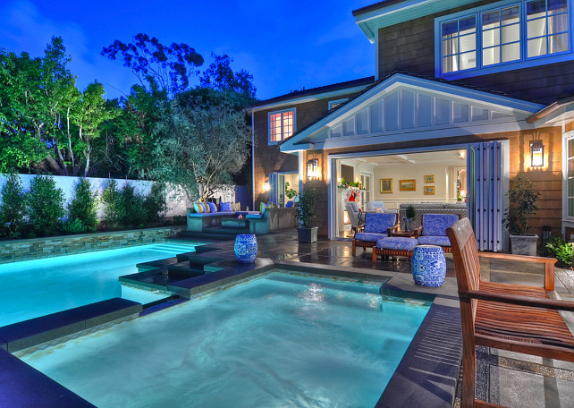 Pool and Spa. Pool and spa backyard. #Pool #Spa #Backyard Spinnaker Development.