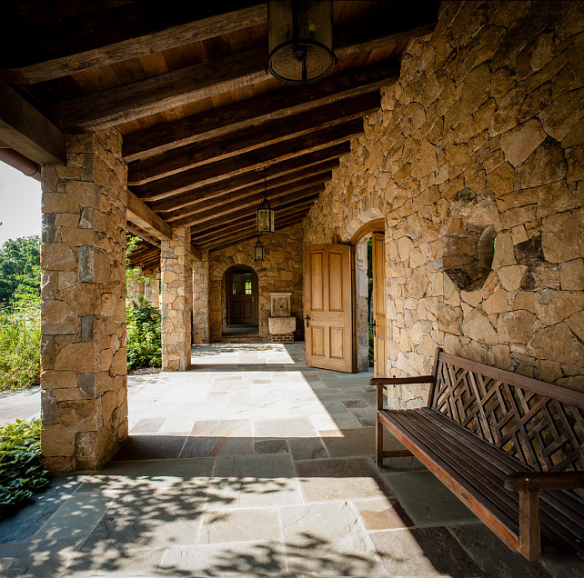 Porch. Porch Ideas. Rustic porch design. Griffiths Construction, Inc.