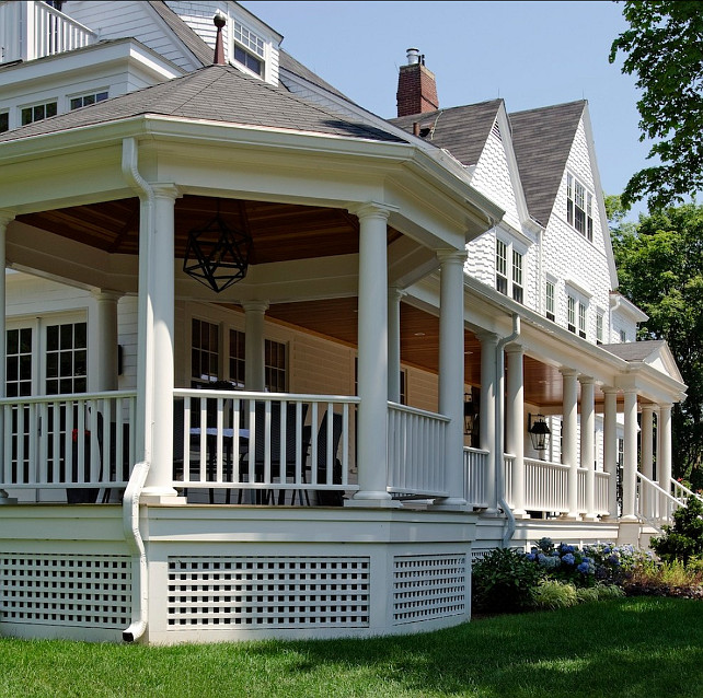 Porch. Porch Ideas. Traditional porch design. #Porch #TraditionalPorch #TraditionalArchitecture