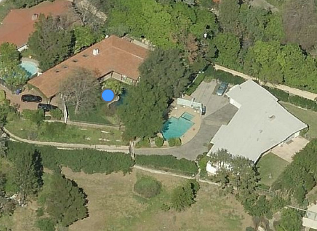 Robert Pattinson's House Aerial View #RobertPattinson