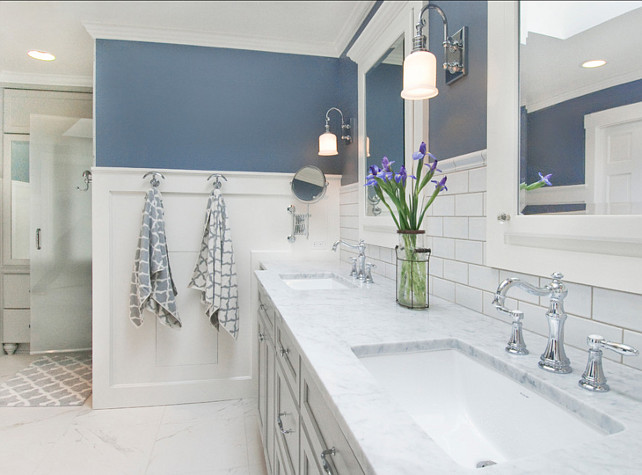 Sherwin Williams Paint Color. Sherwin Williams SW6249 Storm Cloud. #SherwinWilliams #SW6249 #StormCloud Collaborative Interiors Kitchen & Bath Designers.