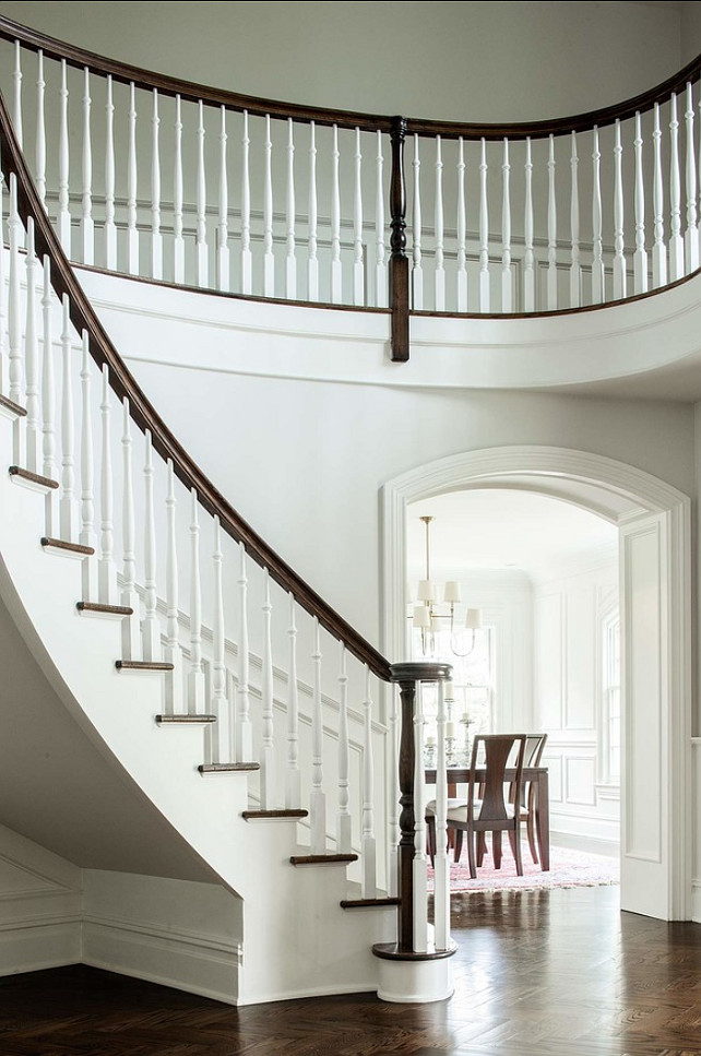 Stairwell Design Ideas. Traditional Stairwell Design. Studio M Interior Design, Inc.