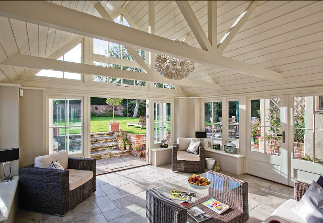 Sunroom Design Ideas. Sunroom Interior Ideas. #Sunroom #SunroomInteriors #SunroomDecor Westbury Garden Rooms.