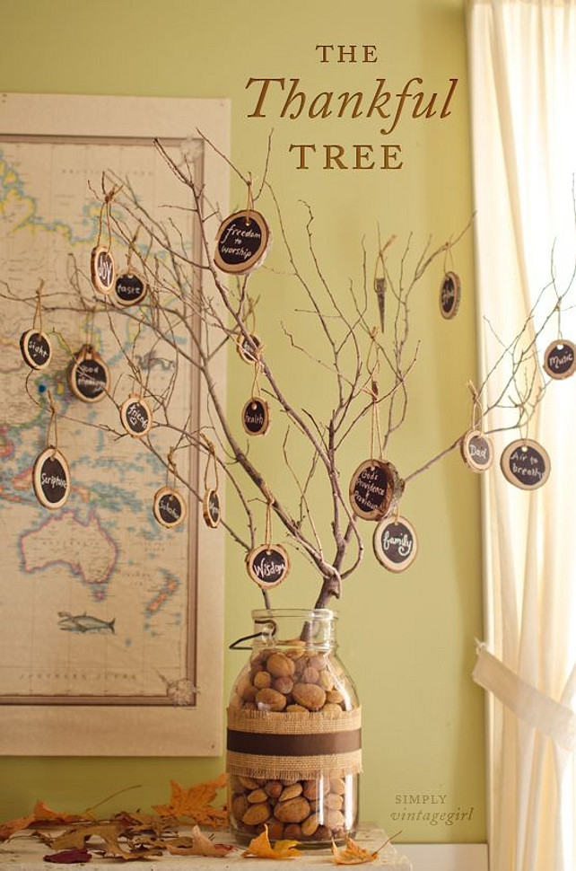 50 Thanksgiving Decorating Ideas - Home Bunch Interior ...