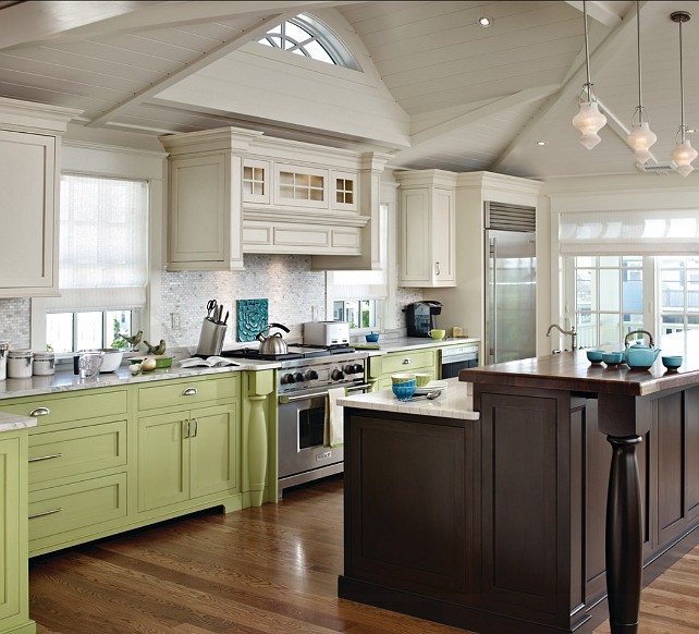 Two Tone Kitchen Cabinet Ideas. Inspiring two tone kitchen cabinest