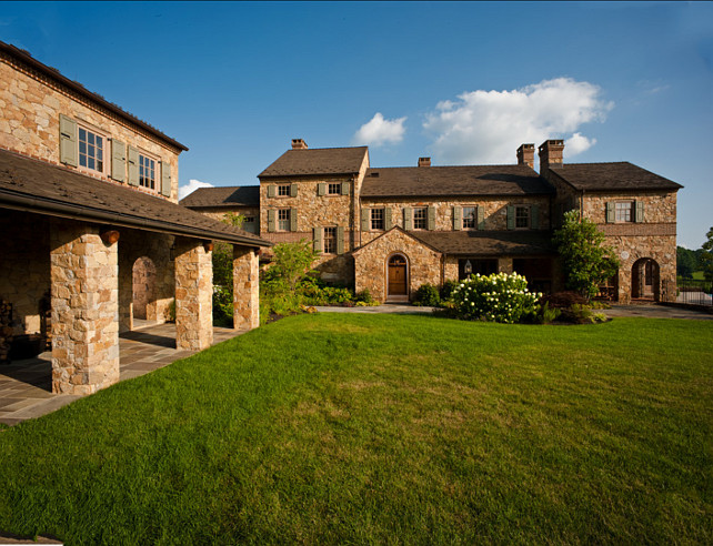 Villa. Italian Villa Ideas. Italian Villa Exterior Ideas. Griffiths Construction, Inc.