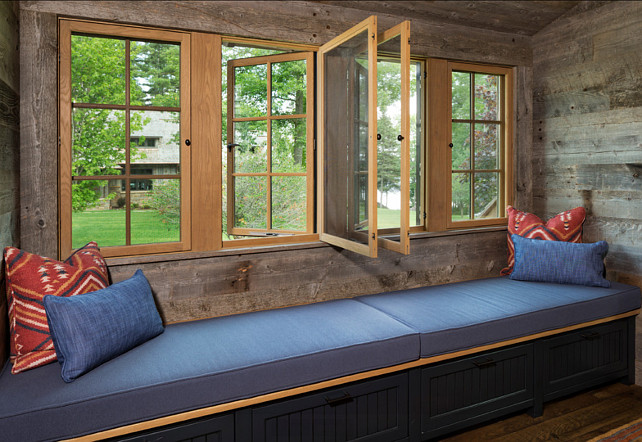 Window-seat Ideas. John Kraemer & Sons